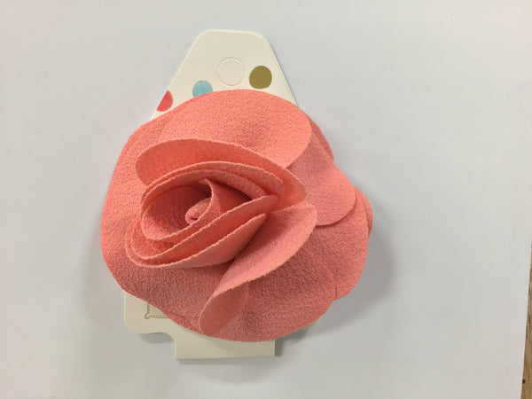 Special Occasions Flower Hair Clip Peach