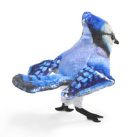 Finger Puppets Mini Blue Jay Bird