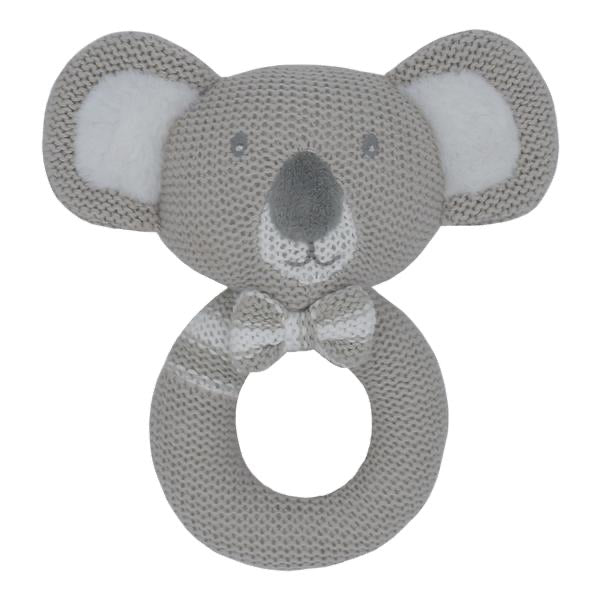 Kevin the Koala Knitted Rattle
