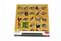 Matching Puzzle Animals