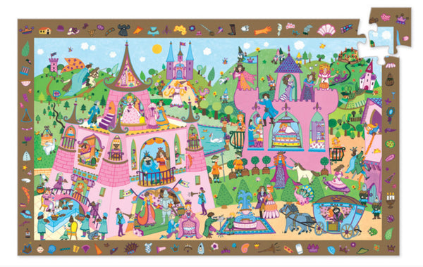 54pc Princess Observation Puzzle and Poster