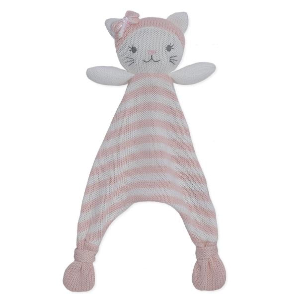 Daisy the Cat Knit Security Blanket