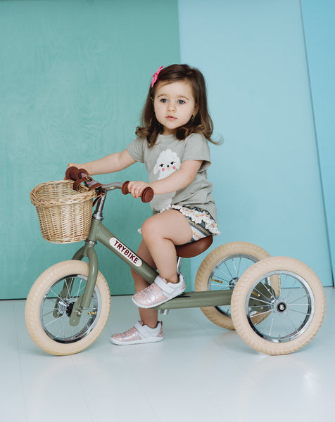 TryBike Green Vintage - Pre order available