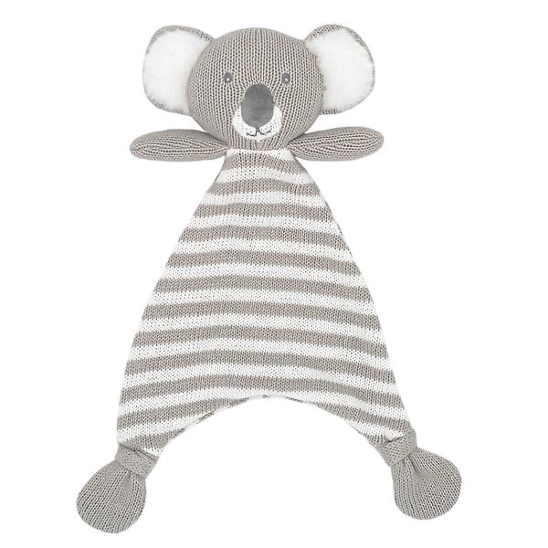 Kevin the Koala Knit Security Blanket