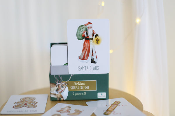 Christmas Snap and Go Fish Cards