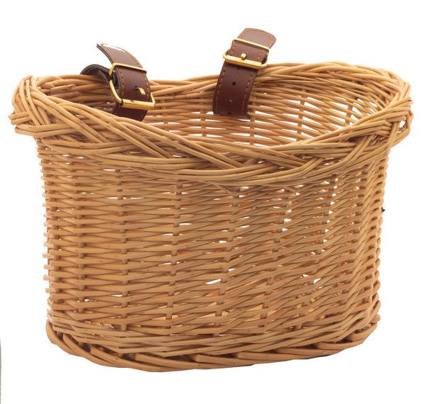 TryBike Woven Wicker Basket for steel bike