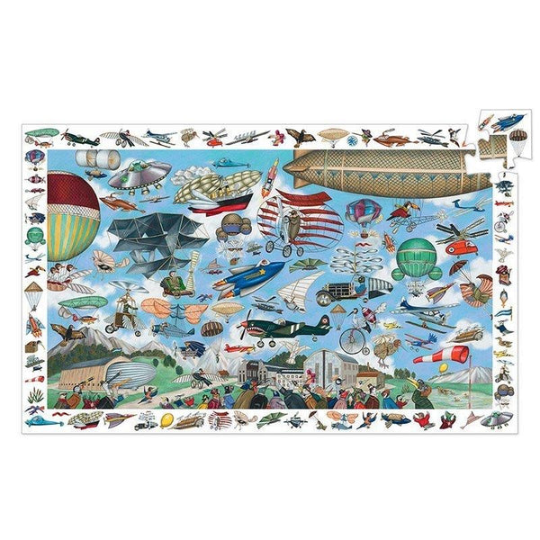 200pc Aero Club Observation Puzzle and Poster