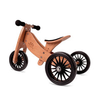 Kinderfeets Tiny Tot Plus Bamboo 2 in 1 trike/bike