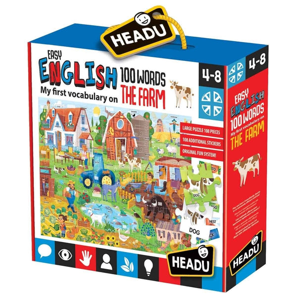Headu Easy English 100 Words The Farm