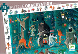 35pc Animal Orchestra Observation Puzzle and Poster