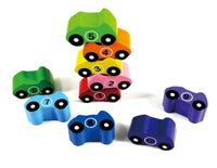 Car Colourful Chunky Puzzle Numbers 1-10