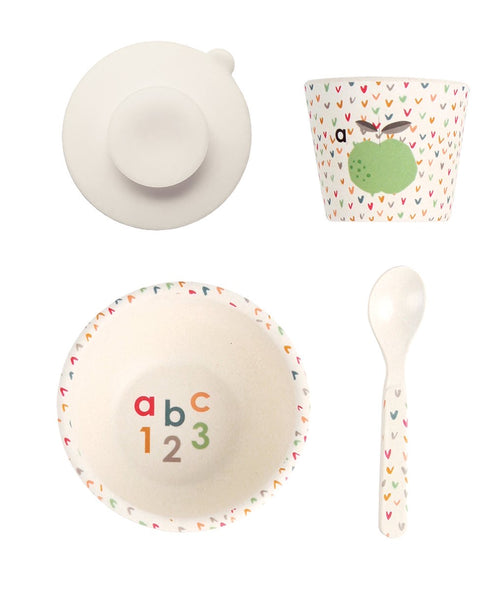 Love Mae Baby Feeding Set ABC