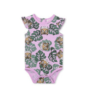 Milky Tiger baby suit Lavender Marle