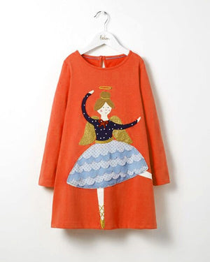 Long Sleeve Dresses Children