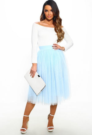 Layers Tulle Skirt Womens Evening Cocktail Party Bridesmaid