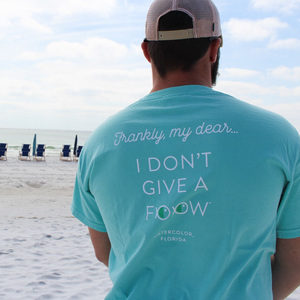 Adult Chalky Mint Give a FOOW Pocket Tee