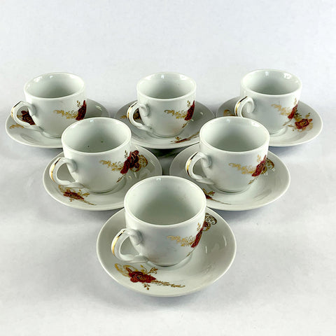12 pcs - Coffee Cups | 12 የቡና ስኒዎች