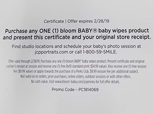 bloom BABY Heavy Messer Baby Wipes Tub - 72 Count