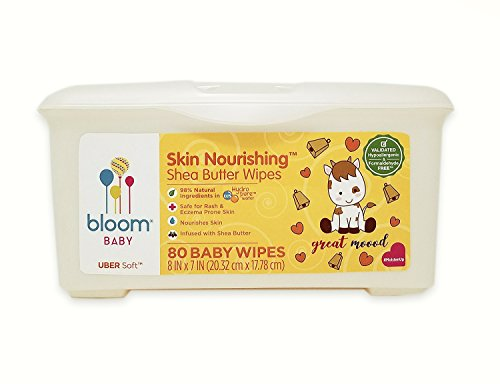 bloom BABY Nourishing Shea Butter Baby Wipes Tub - 80 Count