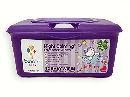 Bloom Baby Uber Soft Baby Wipes Tub - 80 Count