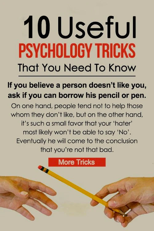 10 Useful Psychology Tricks That You Need To Know