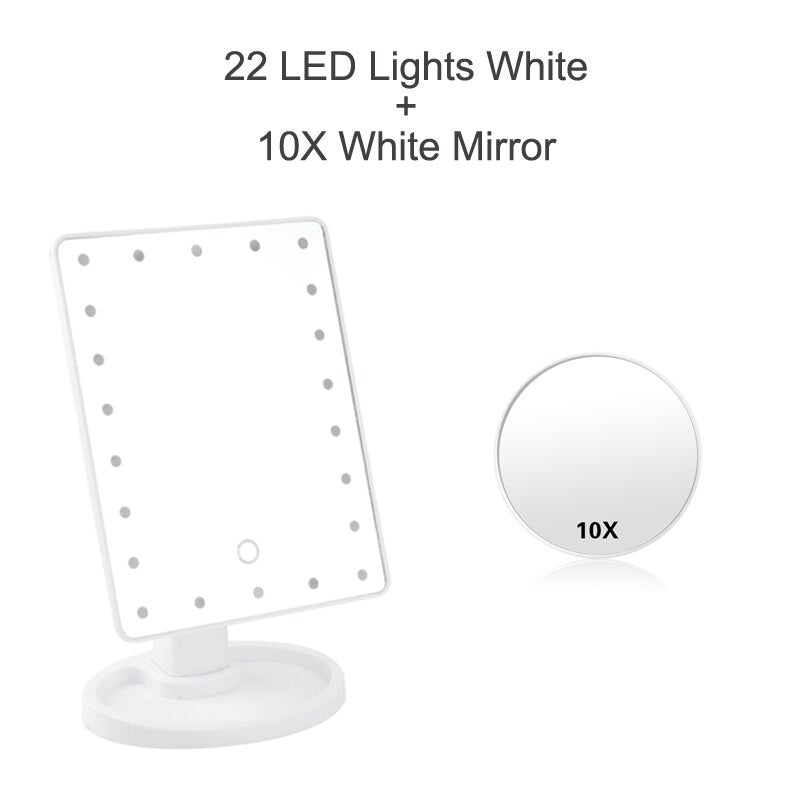 Professional  LED Makeup Mirror Light Portable Rotation Adjustable USB Or Battery Use - AmineMarket-Online shopping for the latest Products