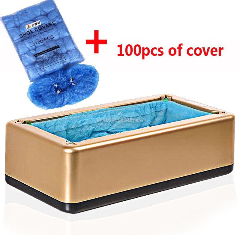 Automatic Shoe Cover Dispenser + 100Pcs of Cover - AmineMarket-Online shopping for the latest Products
