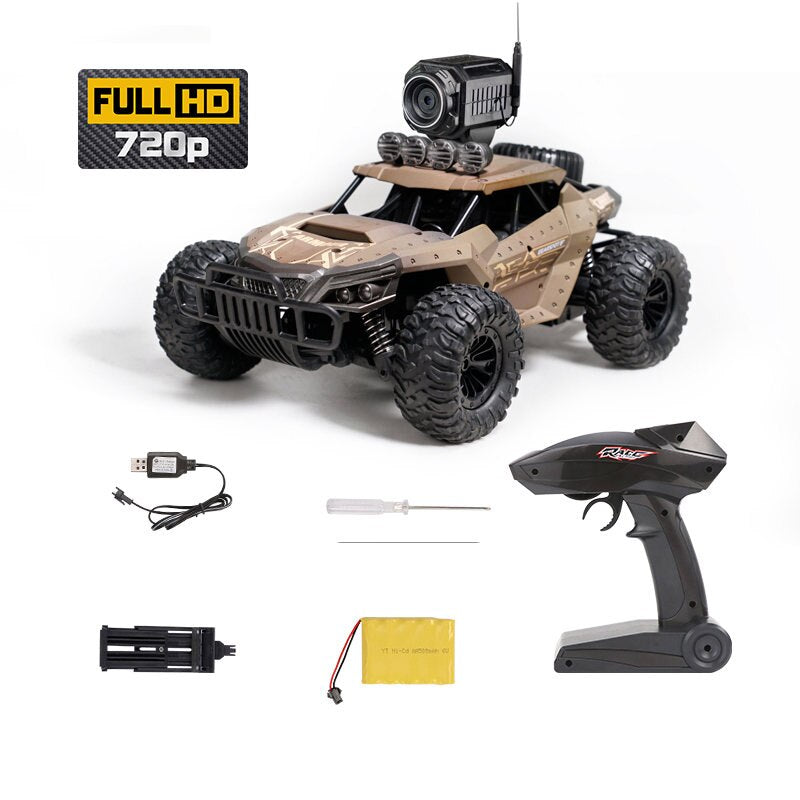 25KM/H  RC Car with WiFi FPV 720P Camera HD  Buggy Trucks Toys - AmineMarket-Online shopping for the latest Products