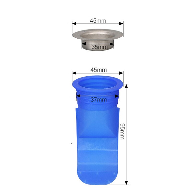 Floor Drain Backflow Preventer In Toilet Bathroom Seal Resist Smell And Bugs - AmineMarket-Online shopping for the latest Products