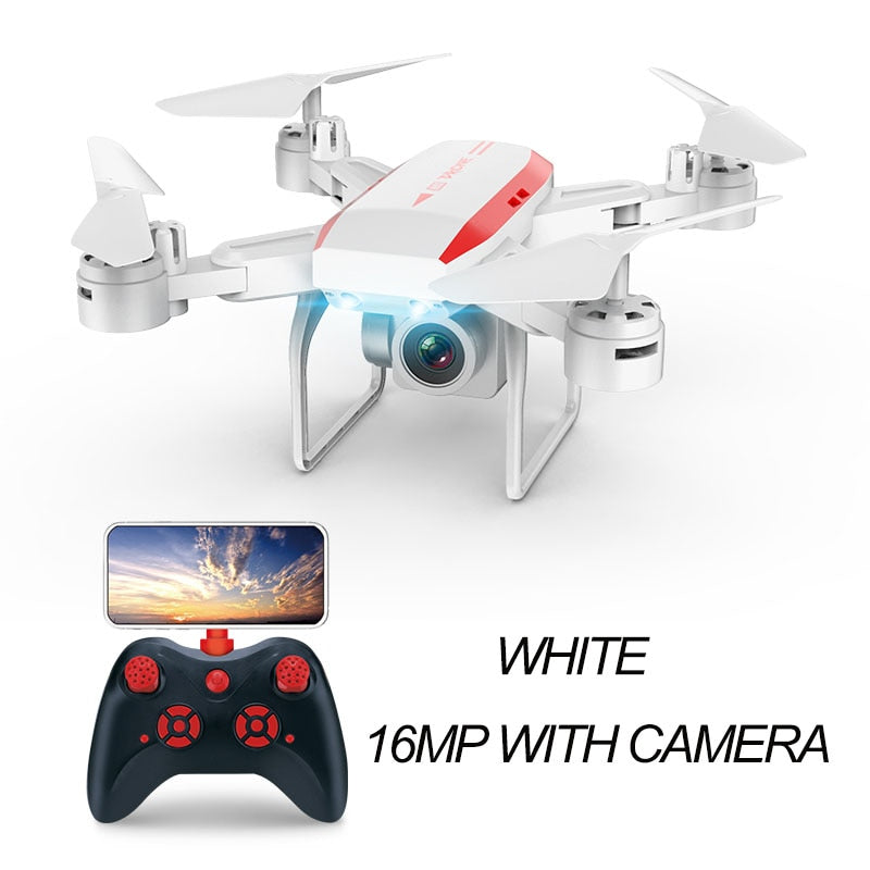 Folding RC Helicopters drone with 4K Camera 16MP aerial long-life - AmineMarket-Online shopping for the latest Products