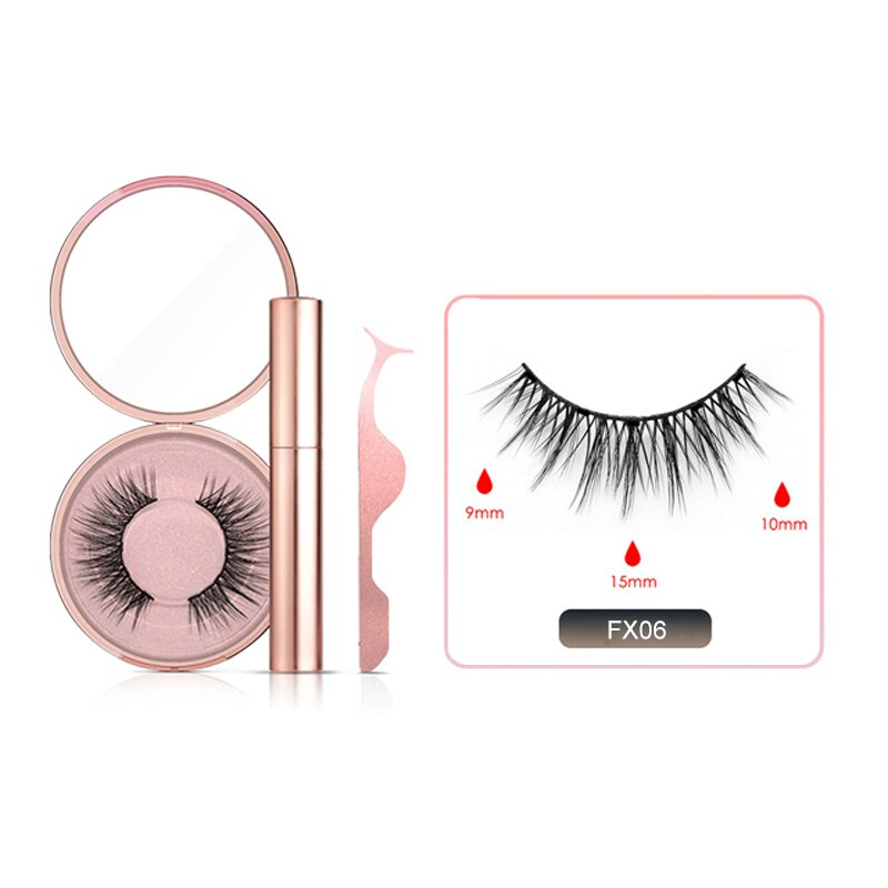 [FREE FAST SHIPPING] 2 Pair Set / Magnetic Eyelash and Eyeliner - AmineMarket-Online shopping for the latest Products