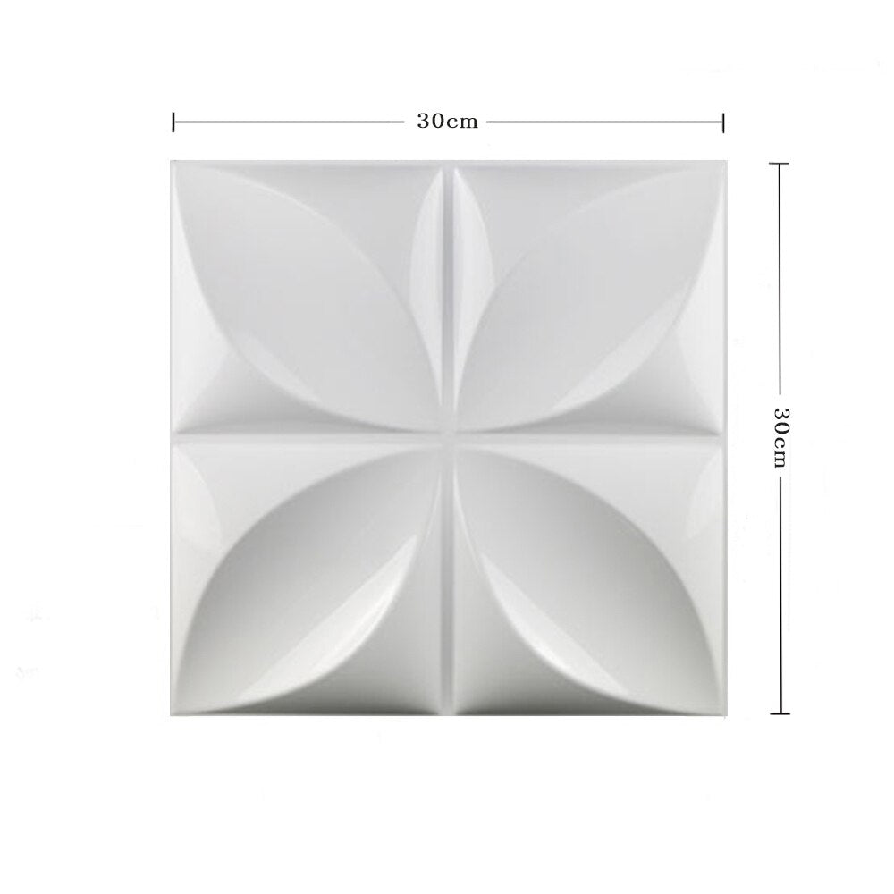 12 PCS Yazi Plastic Molds Forms 3D Decorative Wall Panels - AmineMarket-Online shopping for the latest Products