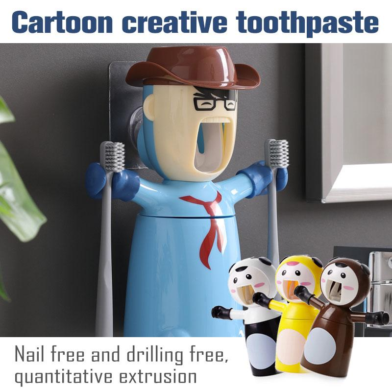 Cartoon Creative Toothpaste - AmineMarket-Online shopping for the latest Products