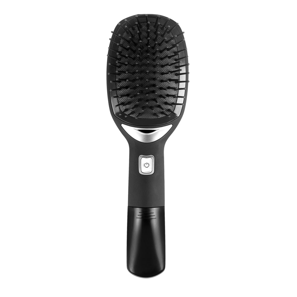 Portable Electric Ionic Hairbrush - AmineMarket-Online shopping for the latest Products