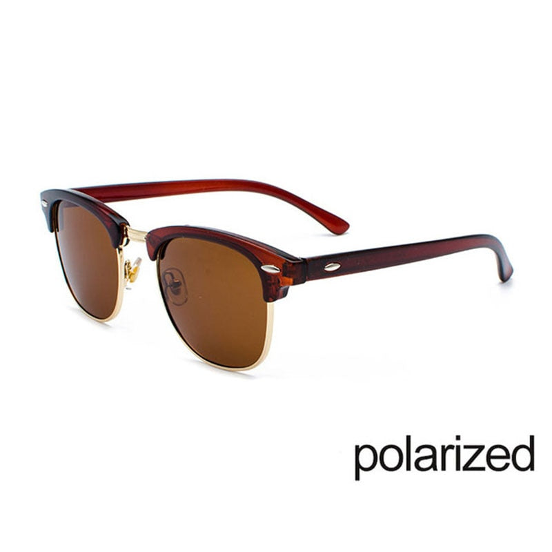 Semi-Rimless  Women/Men Vintage Rice  Eyewear - AmineMarket-Online shopping for the latest Products