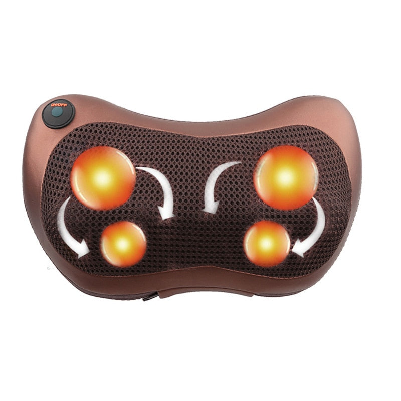 Relaxation Massage Pillow Vibrator - AmineMarket-Online shopping for the latest Products