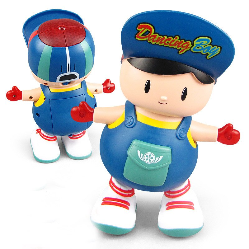 Electric Dancing Boy Cute Music Light Toy - AmineMarket-Online shopping for the latest Products