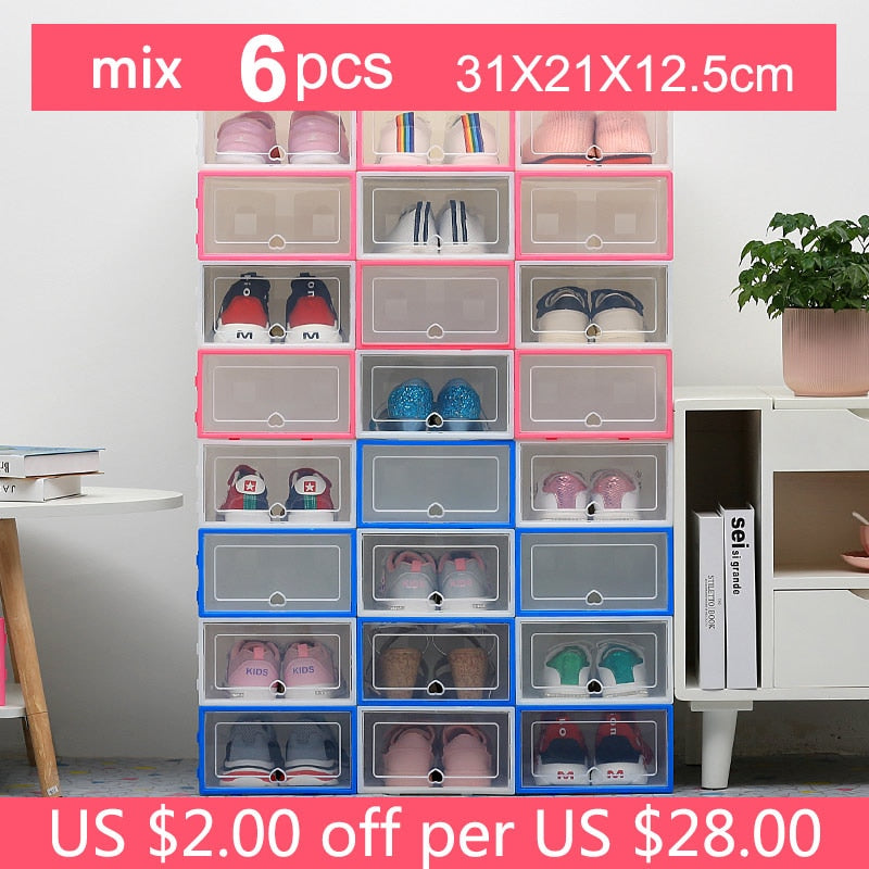 Upgrade Sneaker Shoe Box 6pcs - AmineMarket-Online shopping for the latest Products