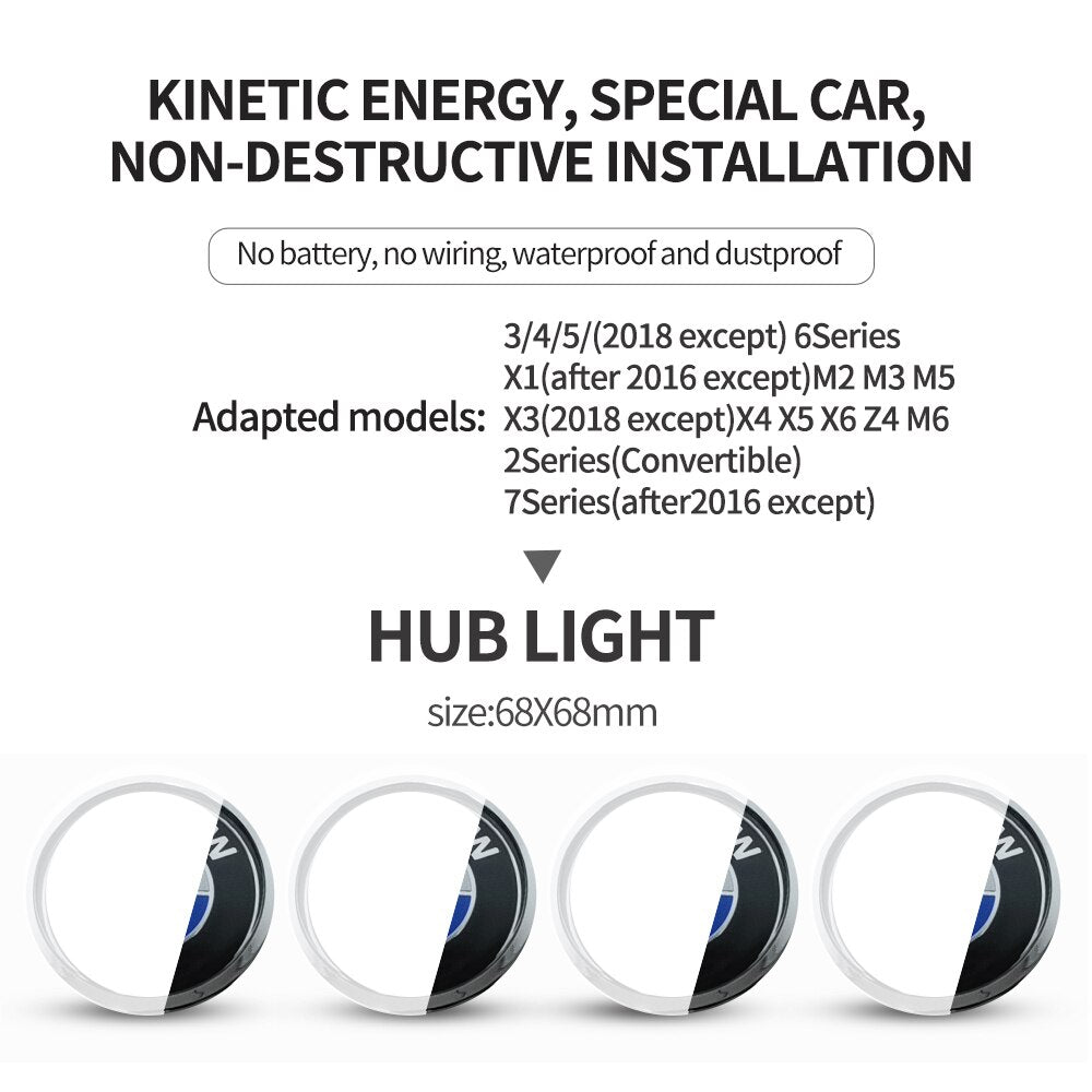 Hub Light Car Wheel Caps Light - AmineMarket-Online shopping for the latest Products