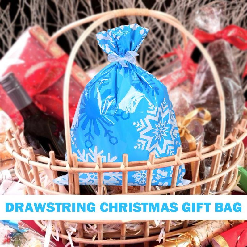 30 PCS One Set Drawstring Christmas Blessing Gift Bag - AmineMarket-Online shopping for the latest Products