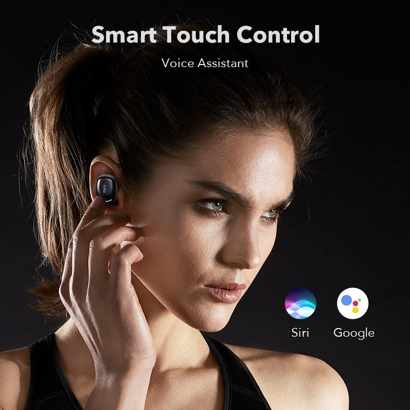 Wireless earphones Touch Control Stereo Cordless Headset For All  Smart Phone With Charging Box - AmineMarket-Online shopping for the latest Products