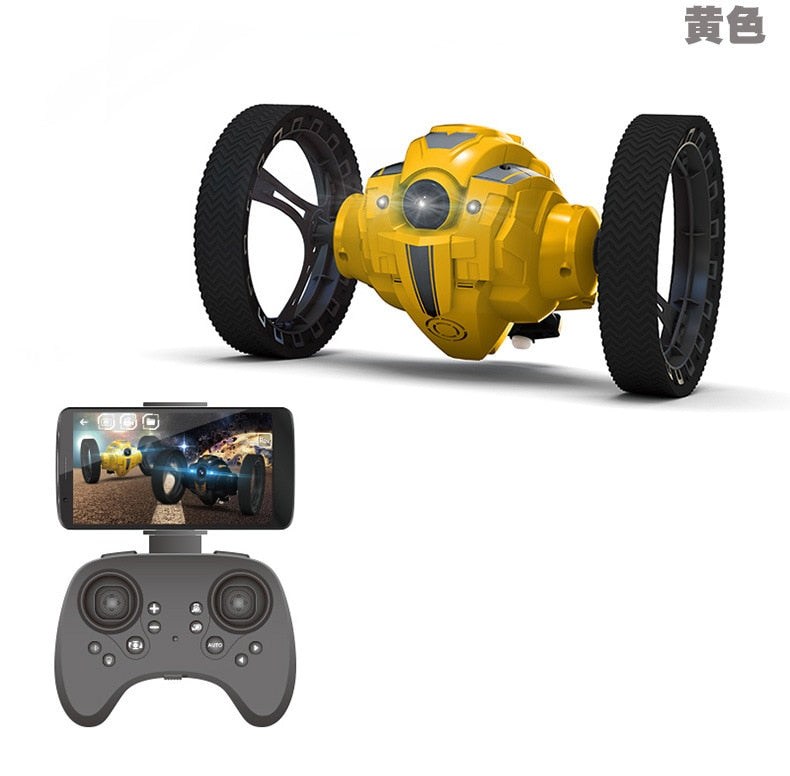 Jumping Car with WIFI camera HD Flexible Wheels Rotation - AmineMarket-Online shopping for the latest Products