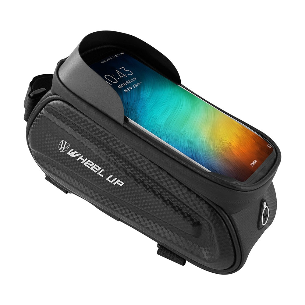 Rainproof Frame Front Top Tube Bicycle Bag With Phone Case - AmineMarket-Online shopping for the latest Products