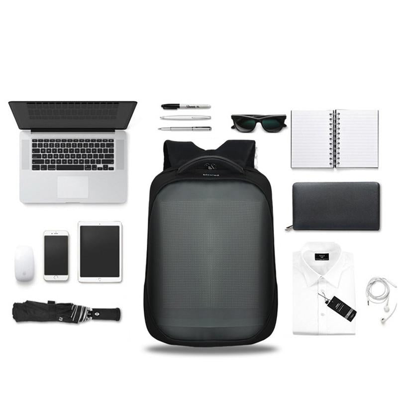 2020 Newest Wifi Smart LED Backpack with led Display Screen Backpack Waterproof - AmineMarket-Online shopping for the latest Products