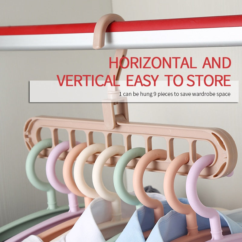 Multi-Port Clothes Hanger - AmineMarket-Online shopping for the latest Products