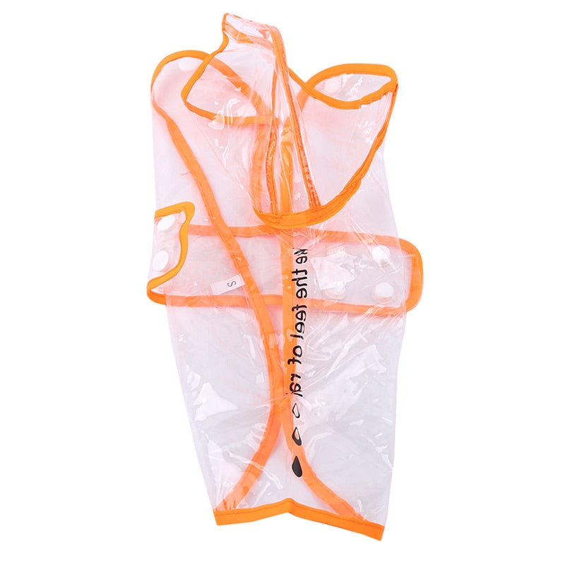 Transparent Dog Raincoat - AmineMarket-Online shopping for the latest Products