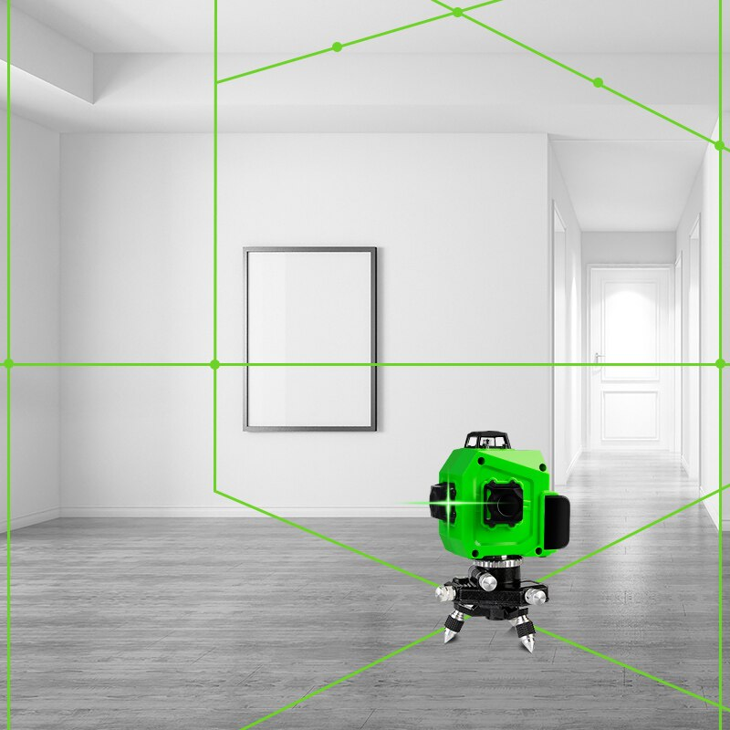3D AUTO-LEVELING LASER LEVEL WITH PULSE FUNCTION - AmineMarket-Online shopping for the latest Products