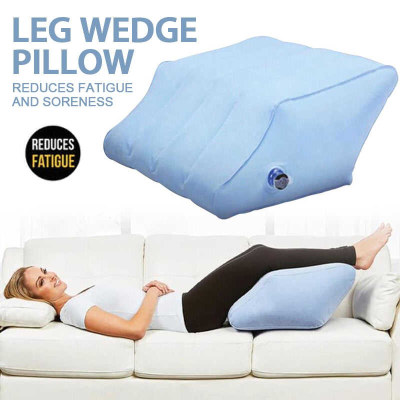 Leg Wedge Pillow Inflatable Pillow With