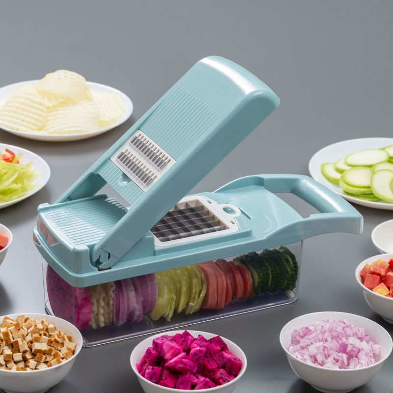 Smart Vegetable Slicer 8 In 1 Gadgets Kitchen Accessories - AmineMarket-Online shopping for the latest Products