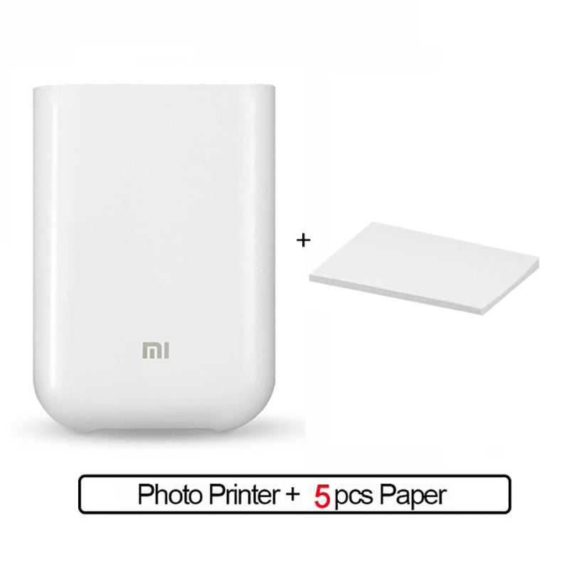 Wireless Mobile Photo Mini Printer - AmineMarket-Online shopping for the latest Products